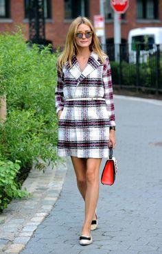Olivia Palermo.. Rails Hunter Shirt, Thakoon For Designation Vest, Les Petits Joueurs Mini Alex Prospect Bag, Jimmy Choo Gala Flats, and Westward Leaning Sunglasses..