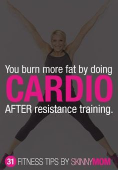 Fitness tip of the say!  Check out more on skinnymom.com