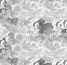 "Nuvole (265cm X 270cm) 82/22034 - Murals - Cole & Son 6 DROPS PER EACH(EA) PANEL. EACH DROP IS 17.72"" (45CM), TOTAL WIDTH OF PANEL IS 106.30"", FULL LENGTH IS 104.25"" (270CM)"