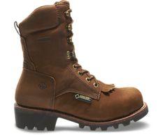 """Wolverine Chesapeake Waterproof Steel-Toe EH 8"""" Logger Work Boot"""