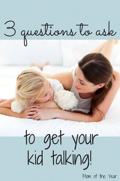 Does it feel like pulling teeth to get your child to tell you about his day? Asking these three questions every day has been the magic trick for us! I love knowing more about their school days and classrooms and love that these questions help reinforce some important messages to my kids too! Start asking, mom!