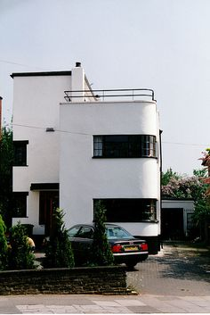 Dream art deco house, I'd obviously have a roof garden with outdoor shower.