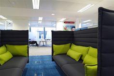 Les bureaux colorés de Playfish à Londres | Déco Bureau