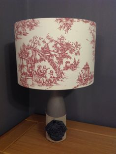 Victorian hunting scene red toile lampshade 30cm sydneys prastorale countryside toile de jouy lampshade by sydneysecrets aloadofball Choice Image