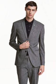Americana jaspeada Slim fit | H&M