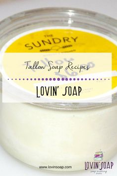 Tallow Soap Recipes