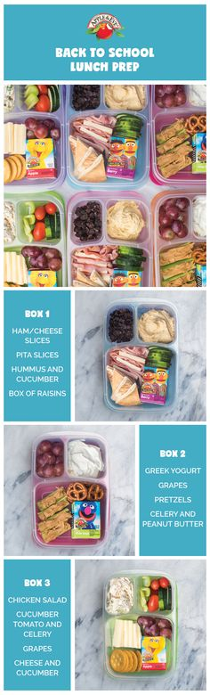 One of the biggest back-to-school stresses is packing lunch every day. But healthy lunches don't have to be hard! Check out our guide for mix-and-matchable lunches to prep and pack on Sunday nights.