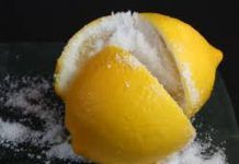"""Salted Lemon-Place It Besides Your Bed-Results Amazing! All you have to do is to cut a lemon into pieces (preferably 4 pieces), place it in a saucer, salt it and put it on your """"night table"""" besides your bed. If you repeat this procedure with salted lemon every night, you will get incredible results!"""