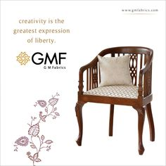 Your choice reflects your Class and Persona. Hence, make sure that your choice of #HomeDecor delivers the right message!  Explore more at www.gmfabrics.com #GMF #GMFabrics #Furnishings #HomeInterior #Decor #HomeFabric