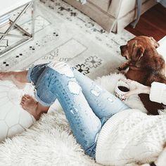 cozy weekend mornings