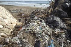Scientific Article detailing plastic debris impact on our oceans. Bali Trash is just the tip of the iceberg. Earthlings we need to refuse plastics. Rethink what we thoughtlessly let slip into the ocean on our beach days. Marine Debris, Kuta Beach, Scientific Articles, Plastic Pollution, Us Beaches, Global Warming, Beach Day, Ecology, The Row