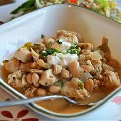 Cha Cha's White Chicken Chili Allrecipes.com