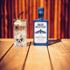 Blue Bottle Gin - Artisan Dry Gin - Small Batch Distilled on the Island of Guernsey | Drinks21