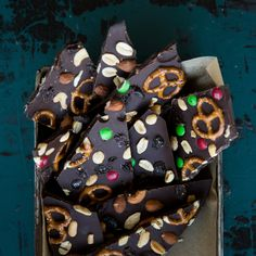 Trail Mix Chocolate Bark