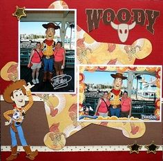 Woody--Like the badge cut out for background.
