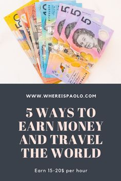 Working Holiday Visa, Working Holidays, Ways To Earn Money, Money Tips, Travel Money, Travel Tips, Fb Share, Work In Australia, Teaching English Online