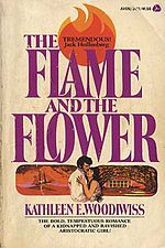 "Her debut novel, The Flame & The Flower, was rejected by agents. Woodiwiss instead submitted it to paperback publishers. The first publisher on her list, Avon, quickly purchased the novel. The Flame & the Flower was revolutionary, featuring a strong heroine & actual sex scenes. The novel sold over 2.3 million copies & is credited with spawning the modern romance genre, becoming the first romance novel ""to [follow] the principals into the bedroom"