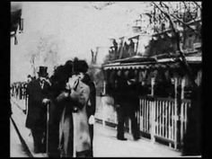 – Lumiere Brothers Film Night (Speed corrected + new soundtrack) - Modern Music Love, Dance Music, Brothers Film, Vintage Dance, Victorian Life, Film Archive, People Leave, Old Photography, City Scene