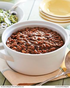 Slow-Cooker Boston Baked Beans | Cuisine at home eRecipes