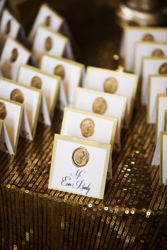 Escort Cards | On SMP | Photography: Justin & Mary - justinmarantz.com