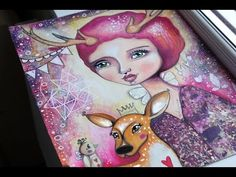 Processing Feelings through Creativity - Part 2 - Mixed Media Art with Willowing - YouTube