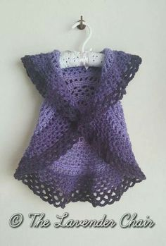 Toddler crochet circle vest free pattern