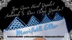 İğne Oyası Nasıl Yapılır? Anlatımlı 5. Ders (Dağ Yapılışı) - YouTube Tatting, Calligraphy, Youtube, Personalized Items, Cards, Bias Tape, Embroidery, Lettering, Bobbin Lace