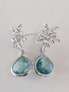 Elsa touch earrings!
