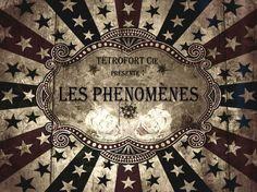 Les Phénomènes - Tétrofort compagnie