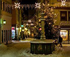 Schwäbisch Hall - weihnachtlicher Milchmarkt