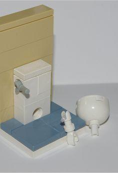 Plumbing - installing a toliet<br> 2009 - toilet Earth And Space, Lego Super Mario, Lego Minecraft, Minecraft Buildings, Lego Duplo, Lego Moc, Lego Ninjago, Lego Design, Lego Creator