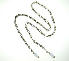 David Yurman Sterling Diamond Chalcedony Long Lariat Necklace Featured in our upcoming auction on July 26!