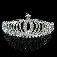 Crystal Rhinestone Wedding Headband Tiara Comb Hair Crown Bridal Pageant Prom for sale online Crystal Headband, Crystal Crown, Crown Headband, Crown Hair, Headband Hair, Silver Headband, Rhinestone Headband, Crystal Flower, Prom Jewelry