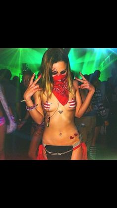 1698 Best EDM Fashion for the Raver Girl images in 2015