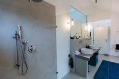 Fertighaus - Wohnidee Badezimmer #Badezimmer #Haus #Fertighaus #Dusche # modern #hell