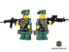 Green Berets Patrol - CustomLEGO® Army Minifigures pack by CombatBrick.com