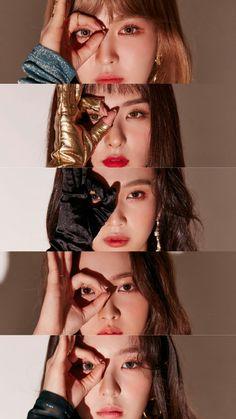 Red velvet peek-a-boo photoshoot Red Velvet Joy, Red Velvet Seulgi, Red Velvet Irene, Kpop Girl Groups, Kpop Girls, Asian Music Awards, Snsd Yuri, Red Velvet Photoshoot, Red Velvet