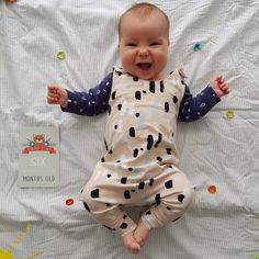 Happy six months to my cute squishy Nico! Onesies, Happy, Cute, Kids, Clothes, Collection, Instagram, Young Children, Outfits