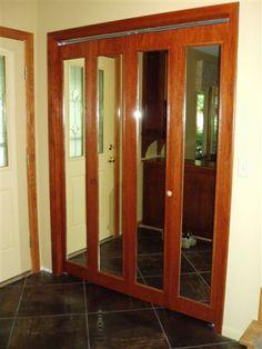 Mirror Bifold Doors a hidden door bookshelf for sale | murphy doors so cool-variety
