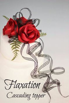 Flaxation for flax wedding bouquets & flowers Wedding Cake Toppers, Wedding Cakes, Flax Weaving, Flax Flowers, Elegant Wedding, Wedding Bouquets, Flower Arrangements, Birthday Parties, Projects To Try