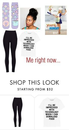 """""""Me Right now..."""" by maryjsullivan ❤ liked on Polyvore featuring Topshop"""