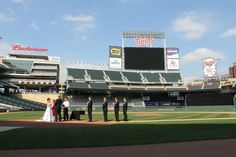 Target Field Dream Wedding!