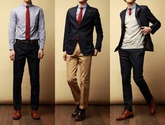 Mix and match - Navy suit.