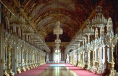 Herrenchiemsee Places Ive Been, Places To Go, Inside Castles, Beau Site, Hall Of Mirrors, Baroque Design, Germany Castles, Royal Residence, Bavaria
