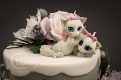 Little kittys birthday cake - Cake by Crazy Sweets