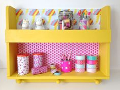 Make it Sewcial... painted shelf – The People shop