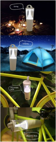 Walker Butterfly Solar LED Camping Lamp, ideal for camping, picnic, BBQ, emergency and other outdoor or indoor use. #camping #travel