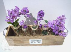Reclaimed Wood Planter Box with Flowers  Barn by RusticPelican