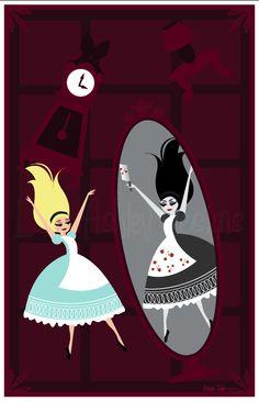Love, Ashley Designs: Alice falling down the rabbit hole!