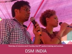 Our visit to India to Organize DSM-India